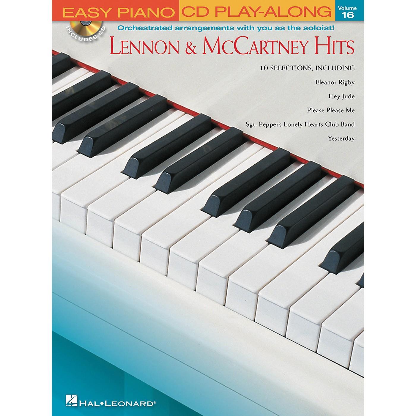 Hal Leonard Lennon & McCartney Hits - Easy Piano CD Play-Along Volume 16 Book/CD thumbnail