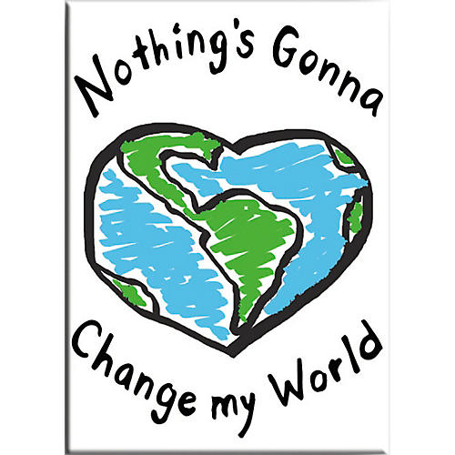 C&D Visionary Lennon & McCartney Nothing's Gonna Change My World Magnet thumbnail