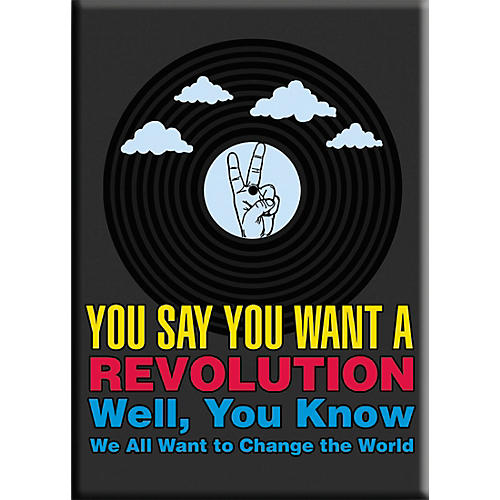 C&D Visionary Lennon & McCartney Revolution Magnet thumbnail