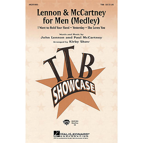 Hal Leonard Lennon & McCartney for Men (Medley) TTB arranged by Kirby Shaw thumbnail