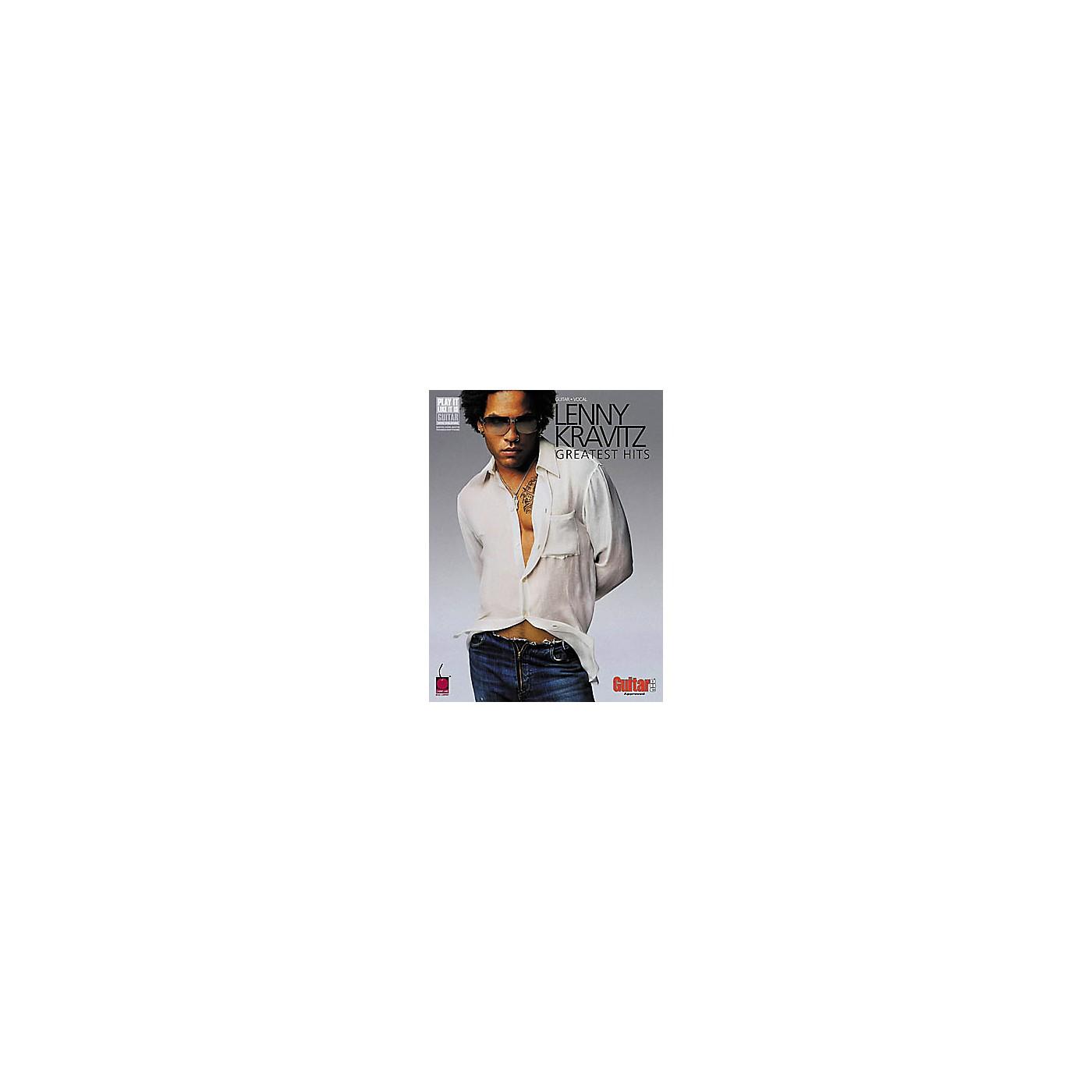 Hal Leonard Lenny Kravitz - Greatest Hits Guitar Tab Book thumbnail