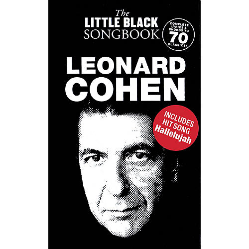 Music Sales Leonard Cohen - The Little Black Songbook The Little Black Songbook Series Softcover by Leonard Cohen thumbnail