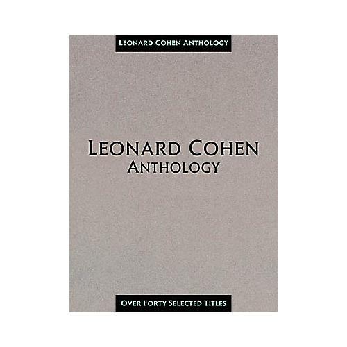 Hal Leonard Leonard Cohen Anthology Composer Collection Book thumbnail