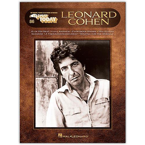 Hal Leonard Leonard Cohen E-Z Play Today #86 thumbnail