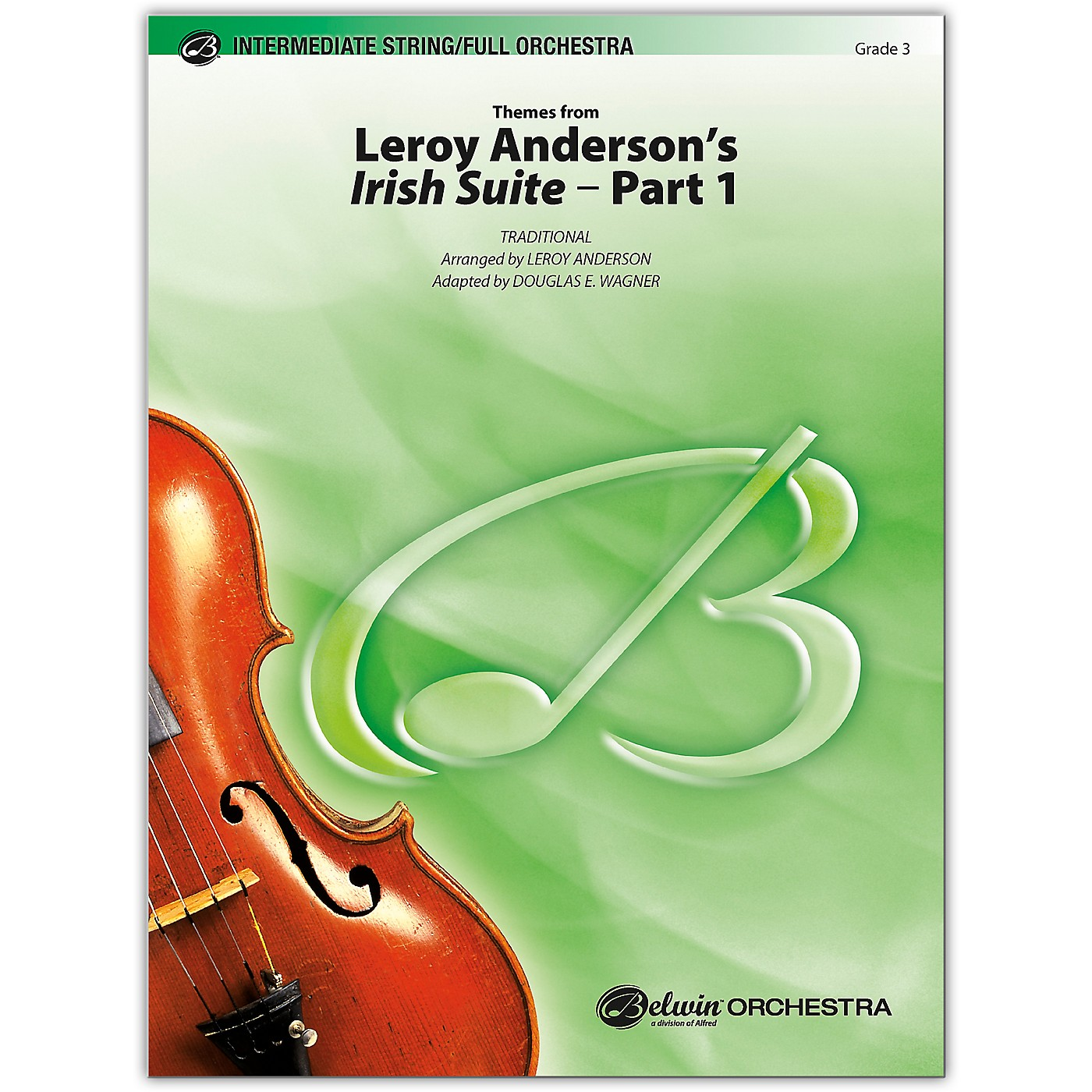 BELWIN Leroy Anderson's Irish Suite, Part 1 (Themes from) 3 thumbnail