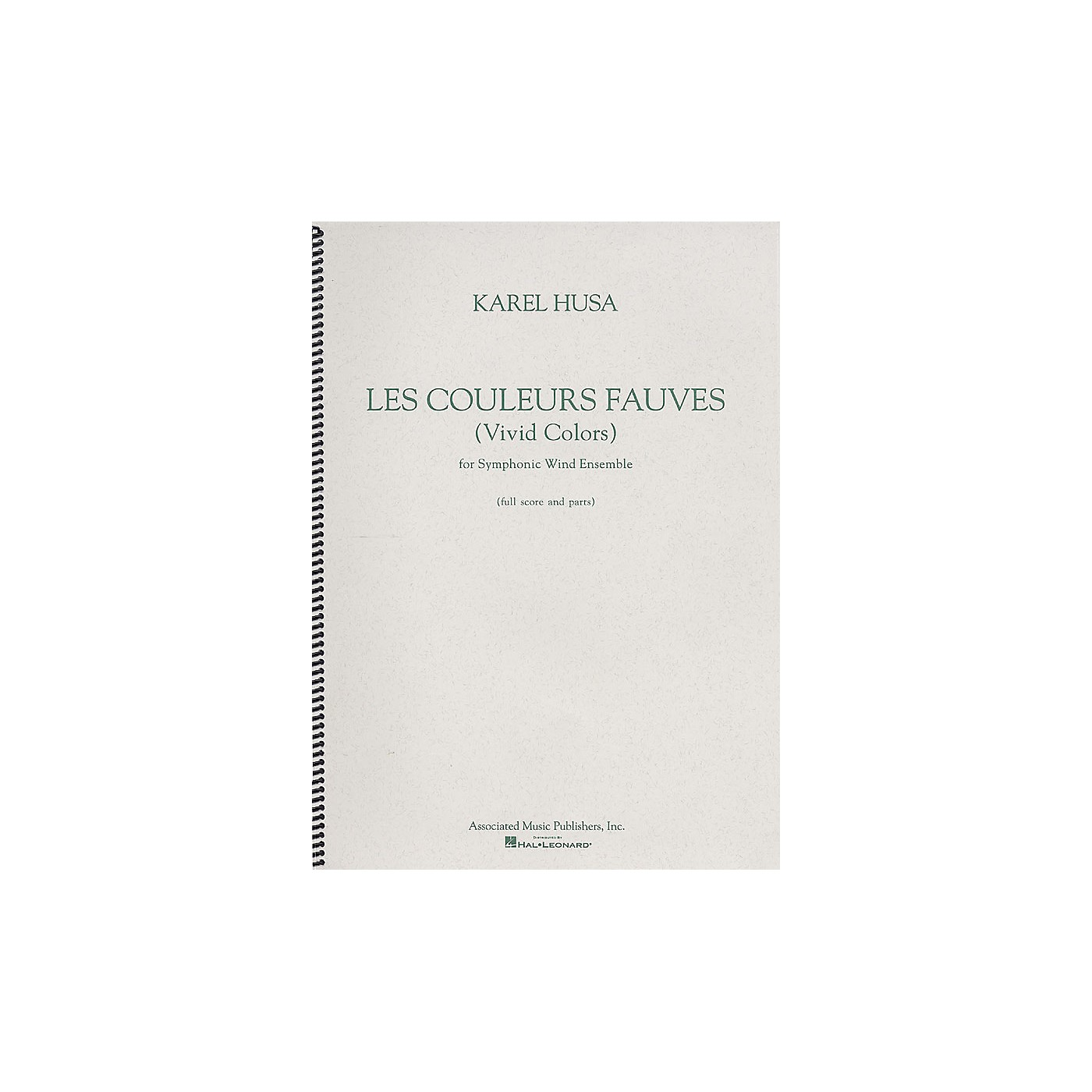 Associated Les Couleurs Fauves (Vivid Colors) (Score and Parts) G. Schirmer Band/Orchestra Series by Karel Husa thumbnail
