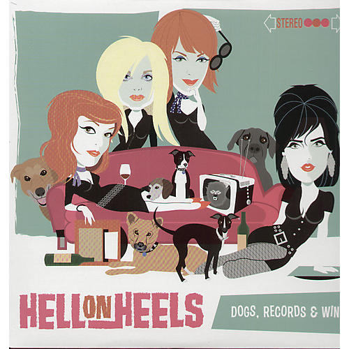 Alliance Les Hell on Heels - Dogs, Records and Wine thumbnail
