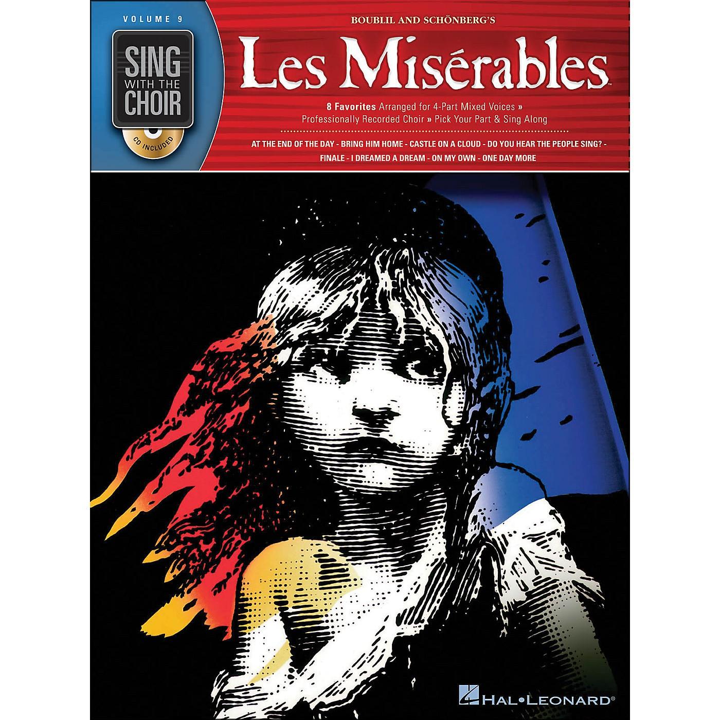 Hal Leonard Les Miserables - Sing with The Choir Series Vol. 9 Book/CD thumbnail
