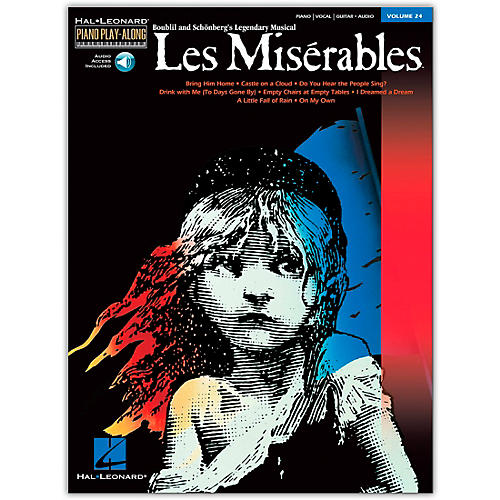 Hal Leonard Les Miserables Volume 24  Piano Play-Along (Book/Online Audio) thumbnail