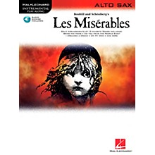Hal Leonard Les Miserables for Alto Sax - Instrumental Play-Along Book/CD