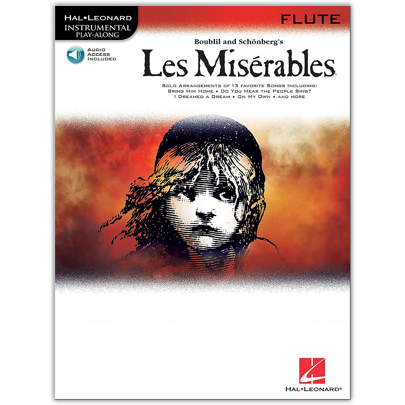 Hal Leonard Les Miserables for Flute - Instrumental Book/Online Audio thumbnail