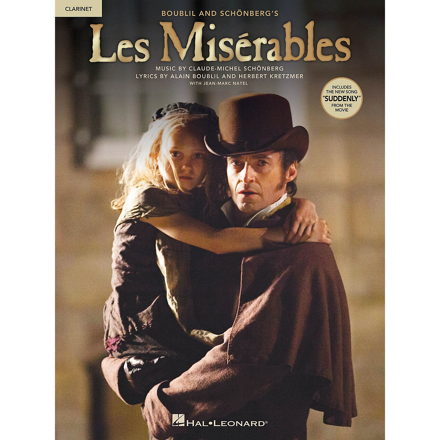 Hal Leonard Les Misrables  Instrumental Solos from the Movie for Clarinet thumbnail