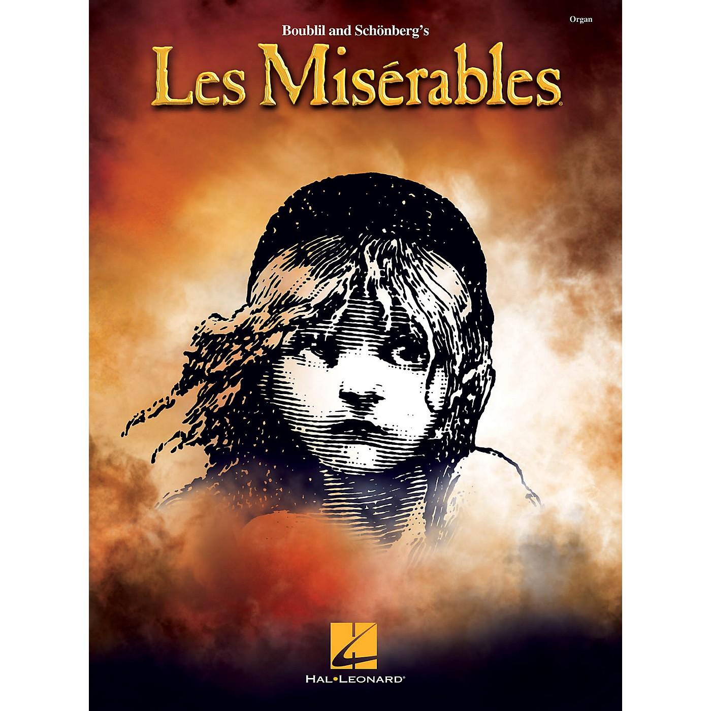 Hal Leonard Les Misérables Organ Folio Series Softcover thumbnail