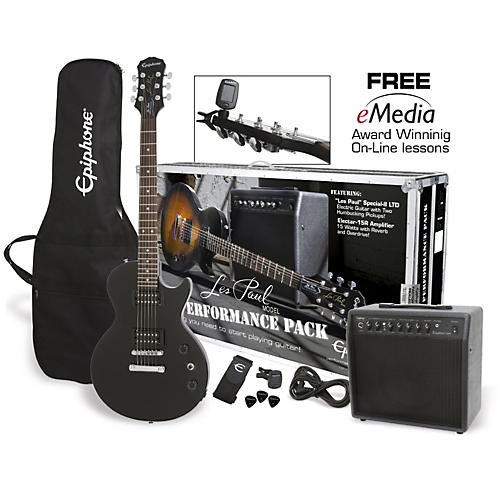 Epiphone Les Paul Electric Guitar Performance Pack thumbnail