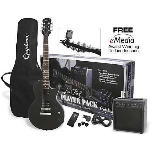 Epiphone Les Paul Electric Guitar Player Pack thumbnail