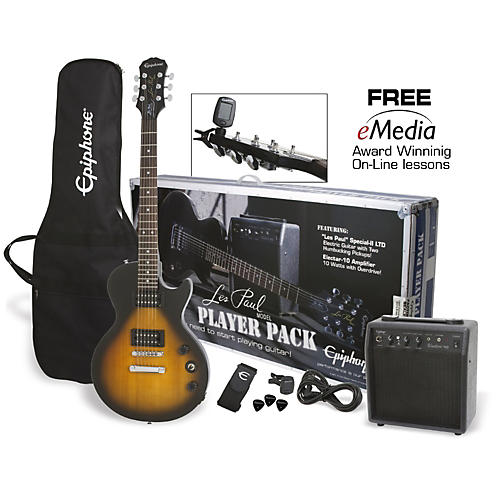 Epiphone Les Paul Electric Guitar Player Pack thumbnail