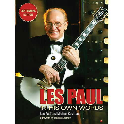 Backbeat Books Les Paul in His Own Words (Centennial Edition) Book Series Softcover Written by Les Paul thumbnail