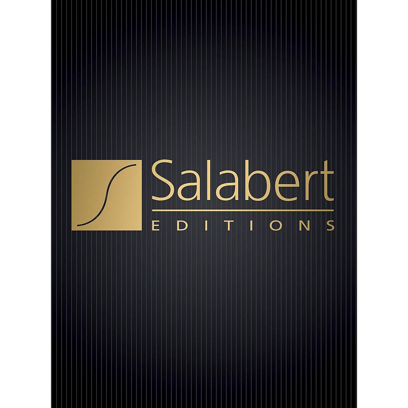 Salabert Les Tisserands Unac Fr No8 From Chansons Francaises SATBB Composed by Francis Poulenc thumbnail