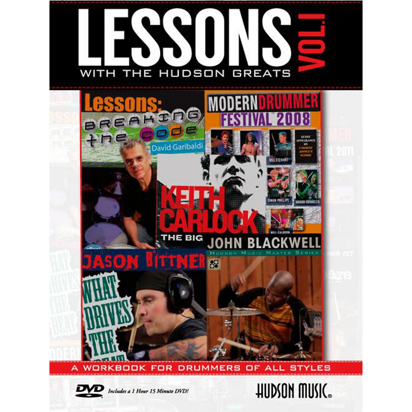 Hudson Music Lessons with the Hudson Greats Book/DVD Vol. 1 thumbnail