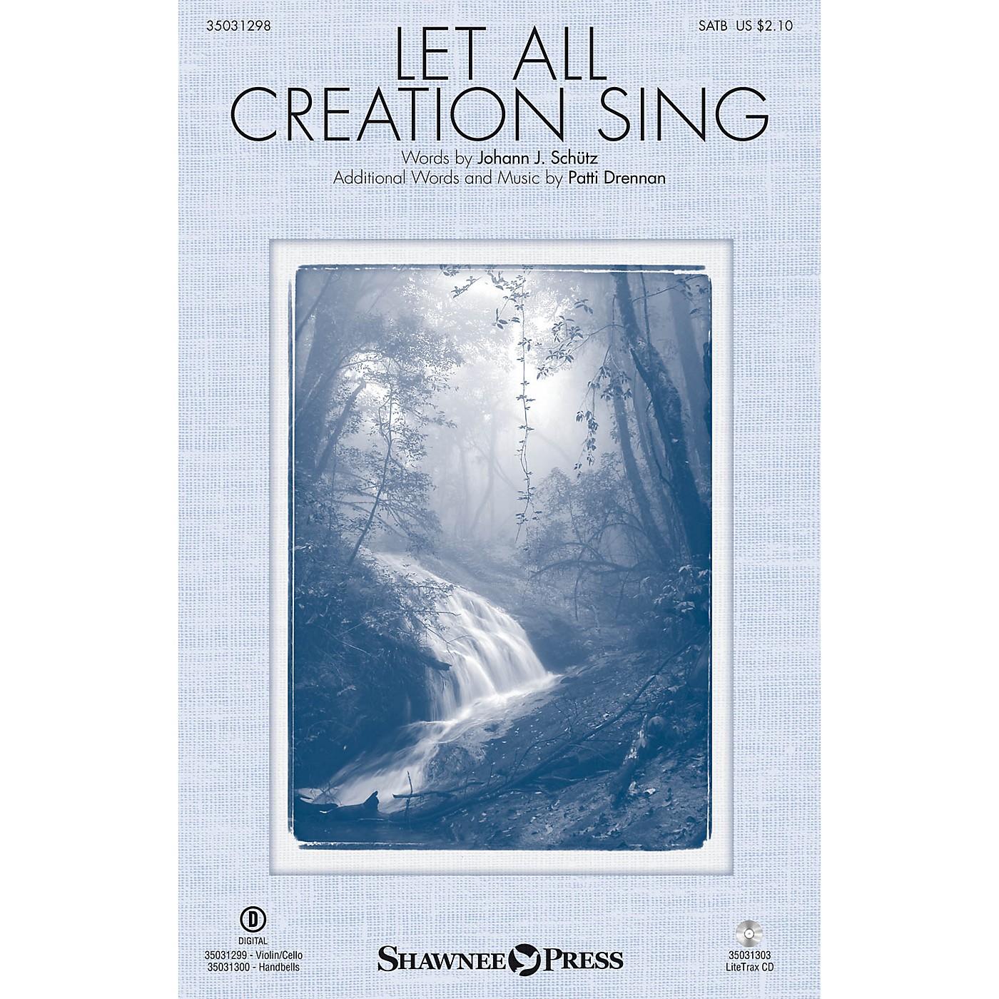 Shawnee Press Let All Creation Sing SATB composed by Johann Schütz thumbnail