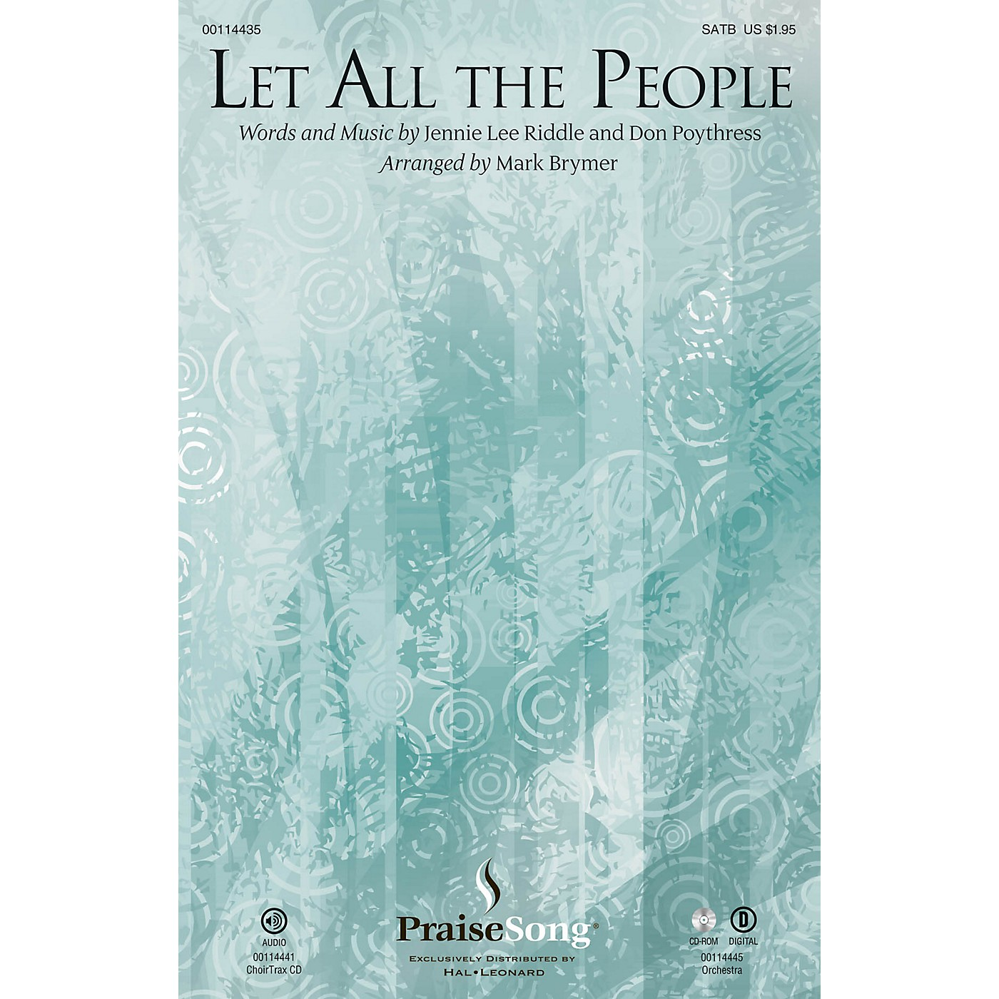 PraiseSong Let All the People CHOIRTRAX CD Arranged by Mark Brymer thumbnail