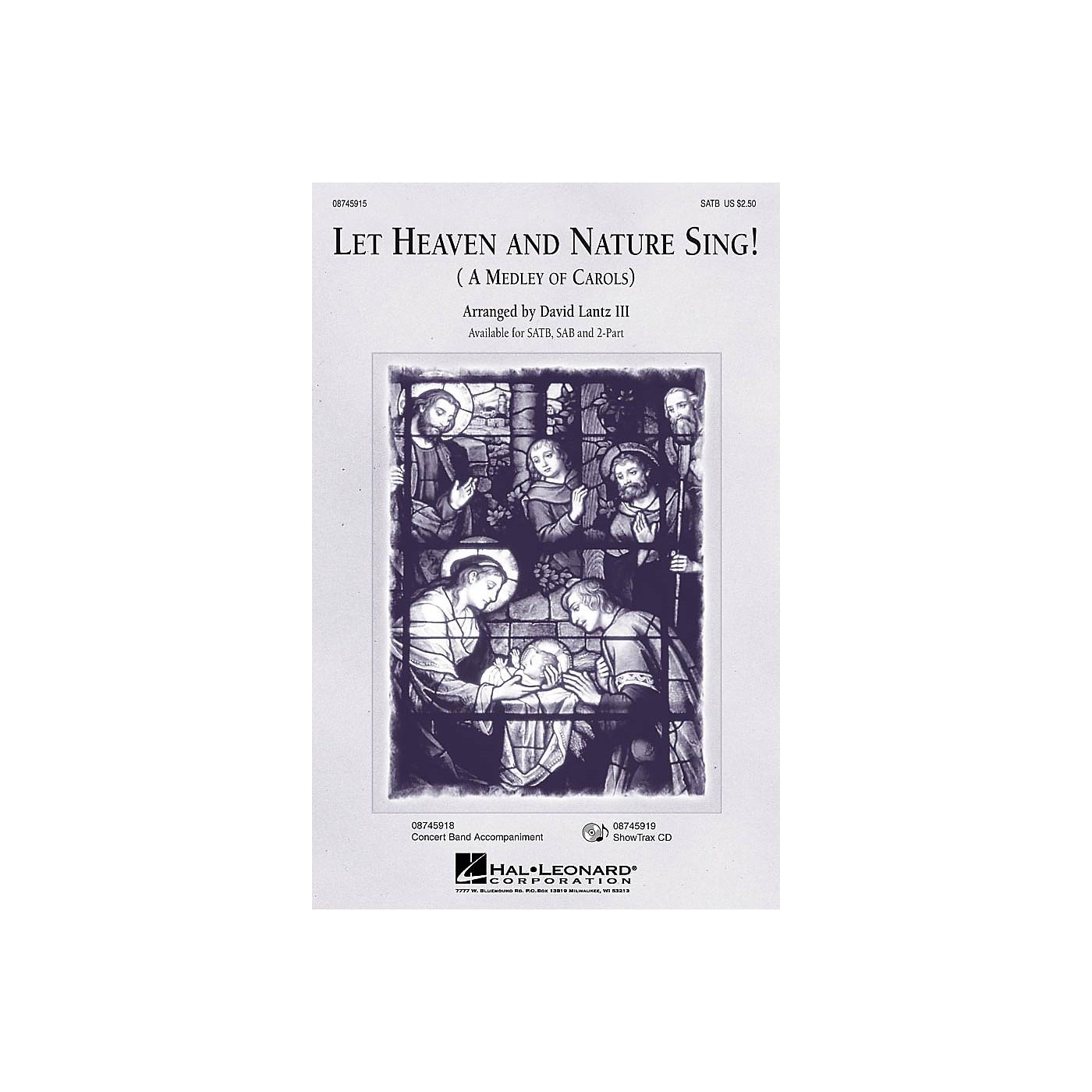Hal Leonard Let Heaven and Nature Sing! ShowTrax CD Arranged by David Lantz III thumbnail