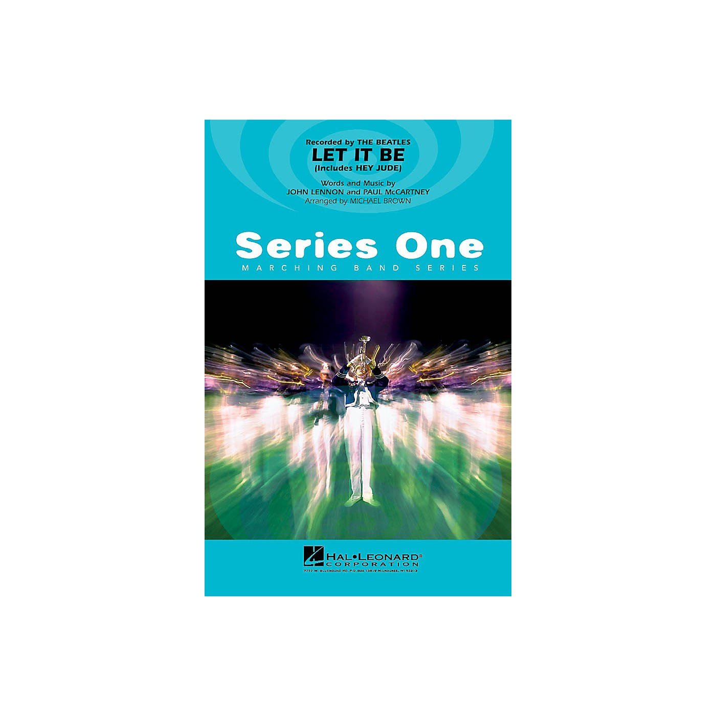 Hal Leonard Let It Be Marching Band Level 2 Arranged by Michael Brown thumbnail