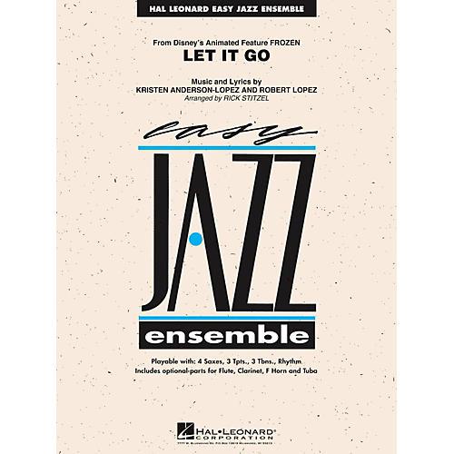 Hal Leonard Let It Go (From Frozen) Easy Jazz Ensemble Series Level 2 thumbnail