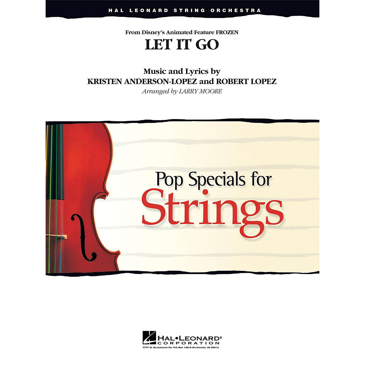 Hal Leonard Let It Go (From Frozen ) for String Orchestra Level 3 - 4 thumbnail