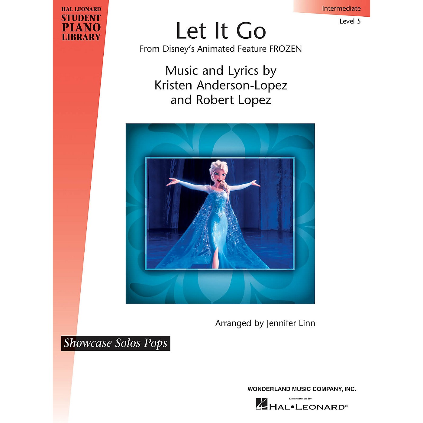 Hal Leonard Let It Go (from Frozen) Piano Library Series by Robert Lopez (Level Inter) thumbnail