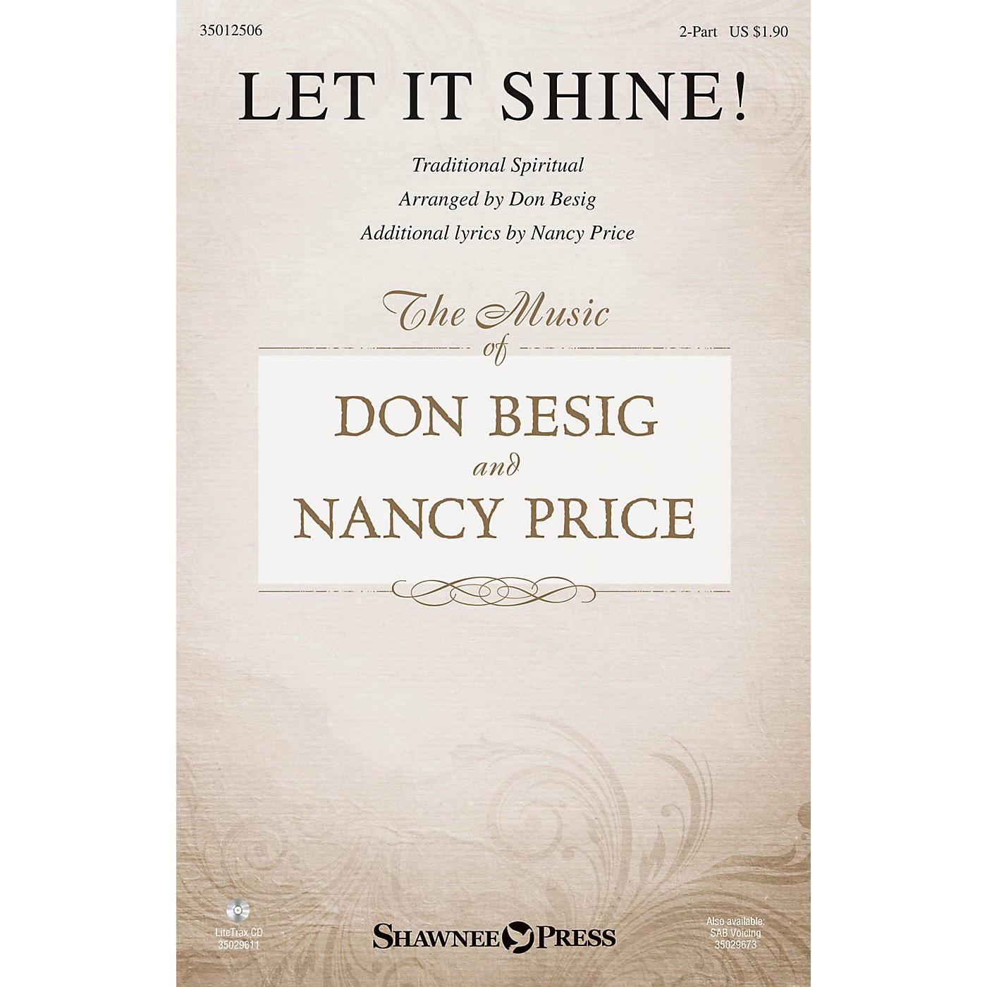 Shawnee Press Let It Shine! 2-Part arranged by Don Besig thumbnail