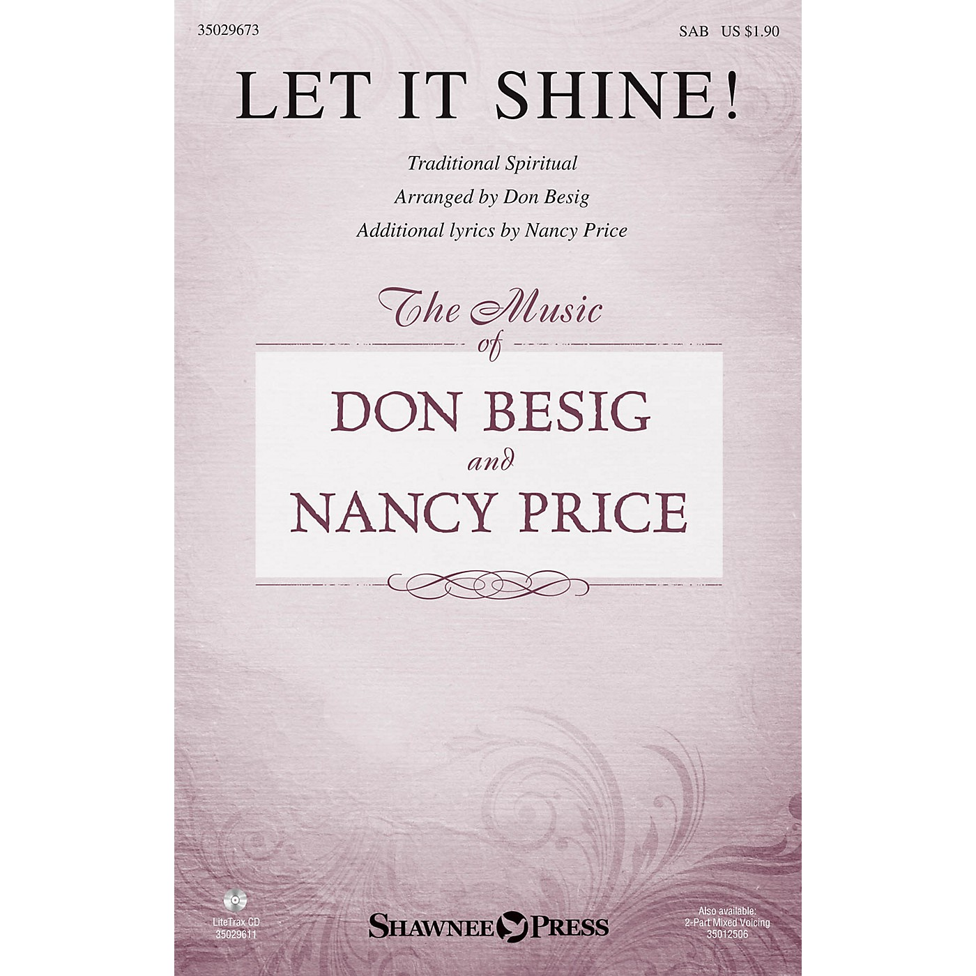 Shawnee Press Let It Shine! SAB arranged by Don Besig thumbnail