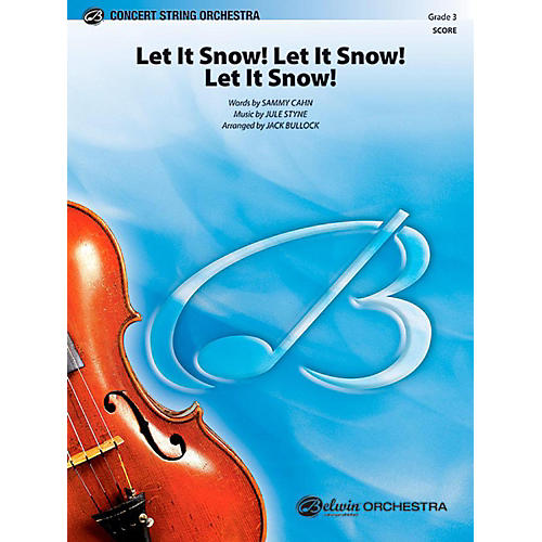 Alfred Let It Snow! Let It Snow! Let It Snow! String Orchestra Level 3 Set thumbnail