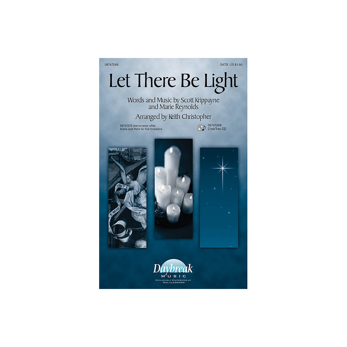 Daybreak Music Let There Be Light CHOIRTRAX CD Arranged by Keith Christopher thumbnail