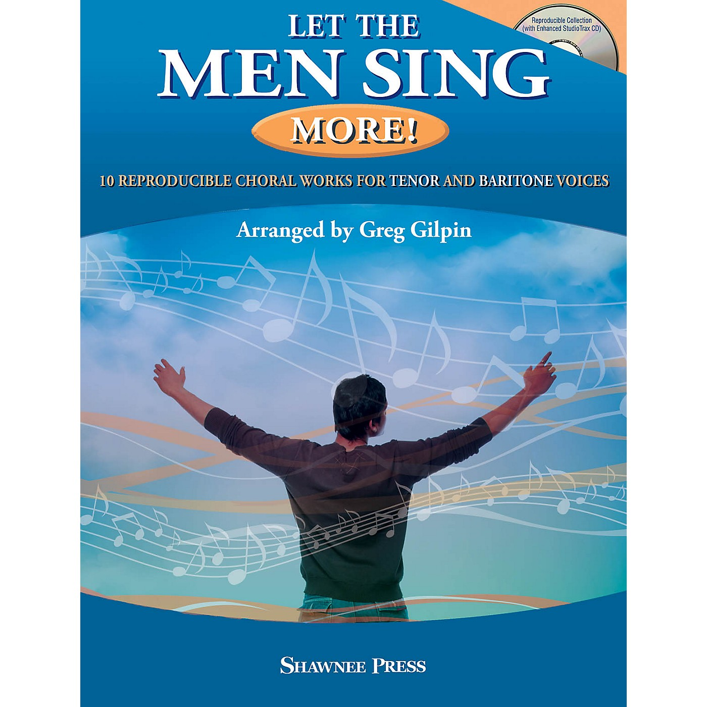 Hal Leonard Let the Men Sing MORE! Book and CD pak arranged by Greg Gilpin thumbnail
