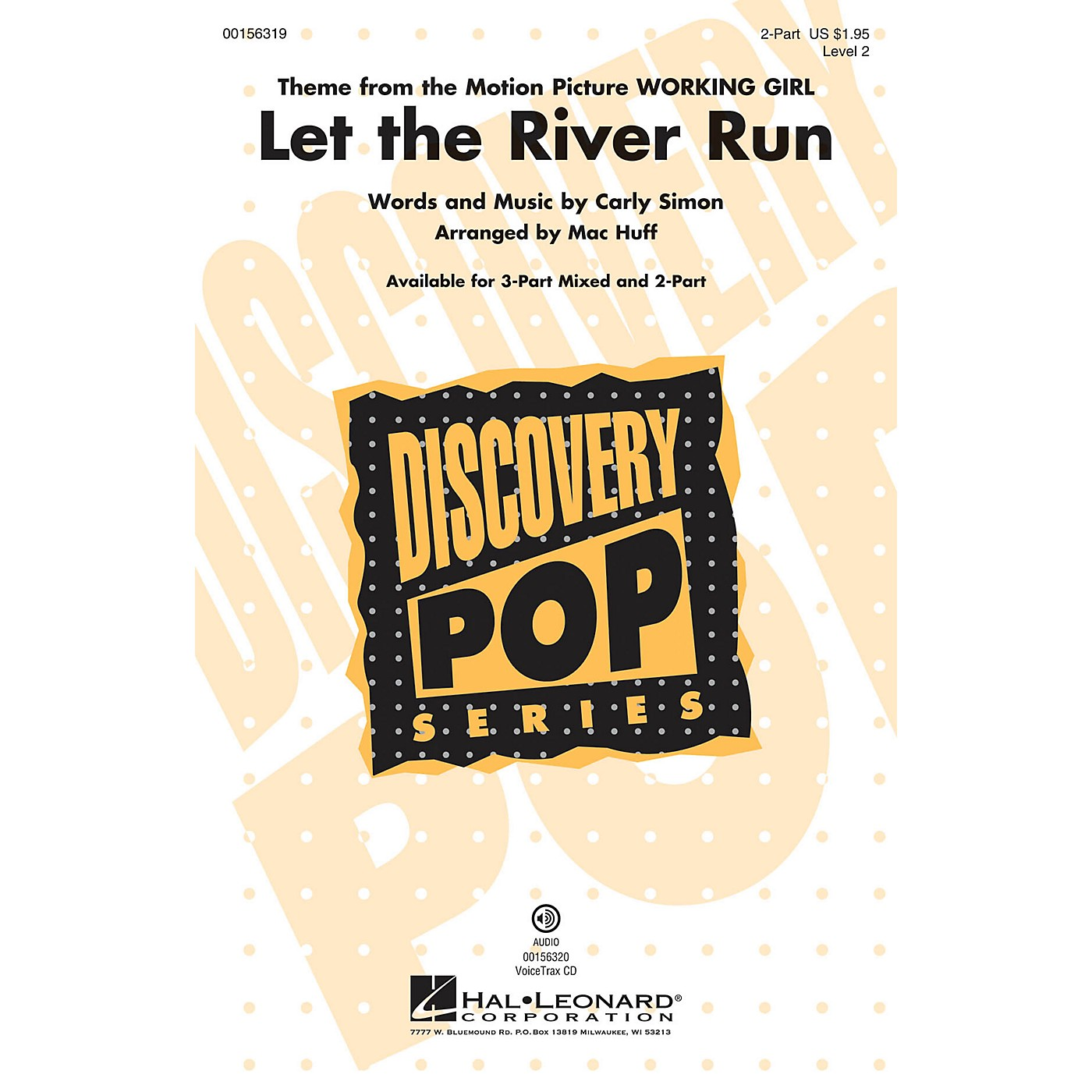 Hal Leonard Let the River Run (Discovery Level 2) 2-Part arranged by Mac Huff thumbnail