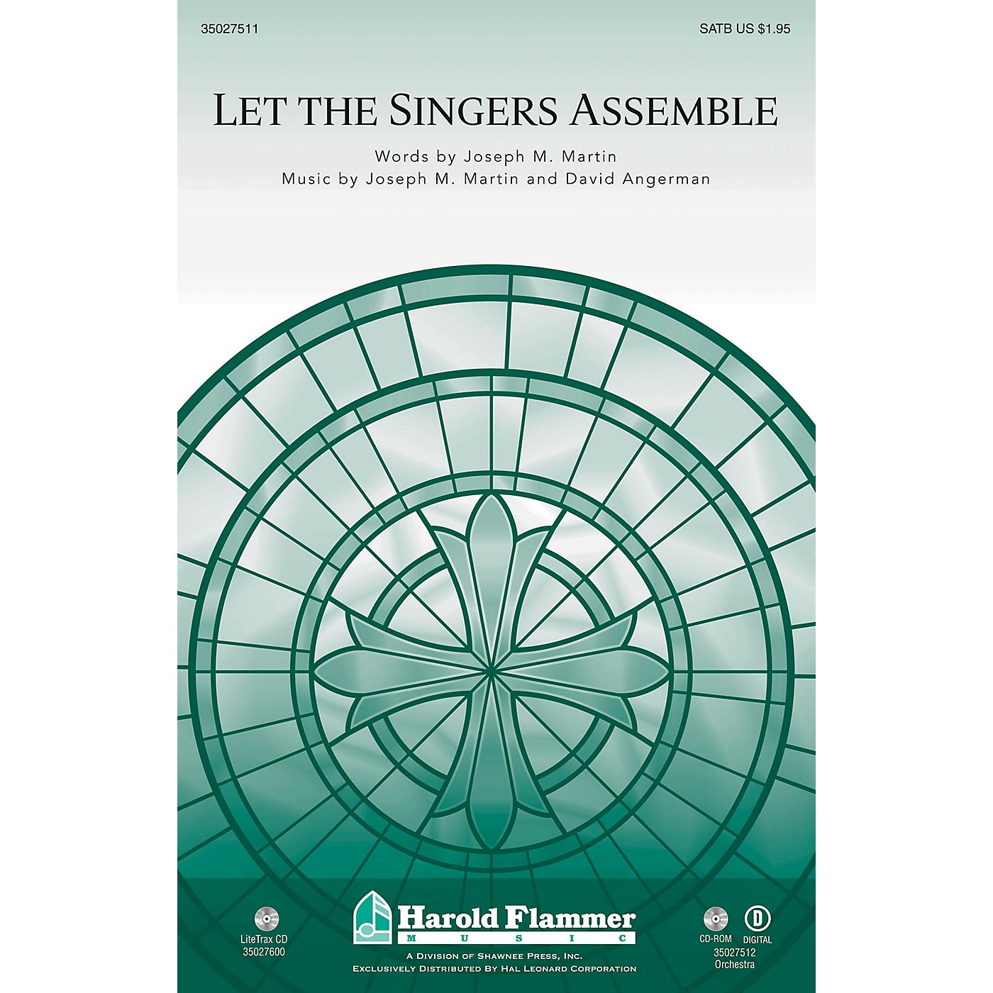 Shawnee Press Let the Singers Assemble BRASS/PERCUSSION PARTS Composed by David Angerman thumbnail