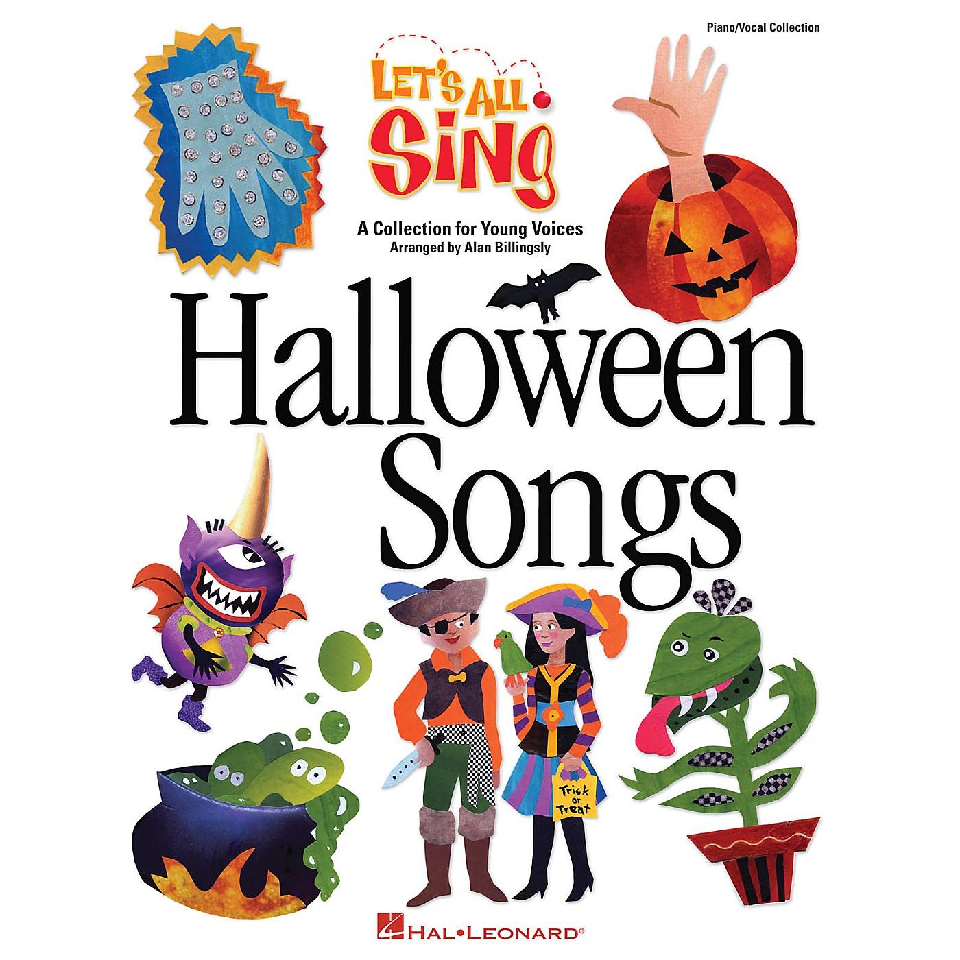 Hal Leonard Let's All Sing Halloween Songs Performance/Accompaniment CD Arranged by Alan Billingsley thumbnail