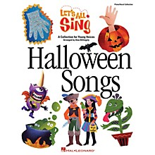 Hal Leonard Let's All Sing Halloween Songs Performance/Accompaniment CD Arranged by Alan Billingsley