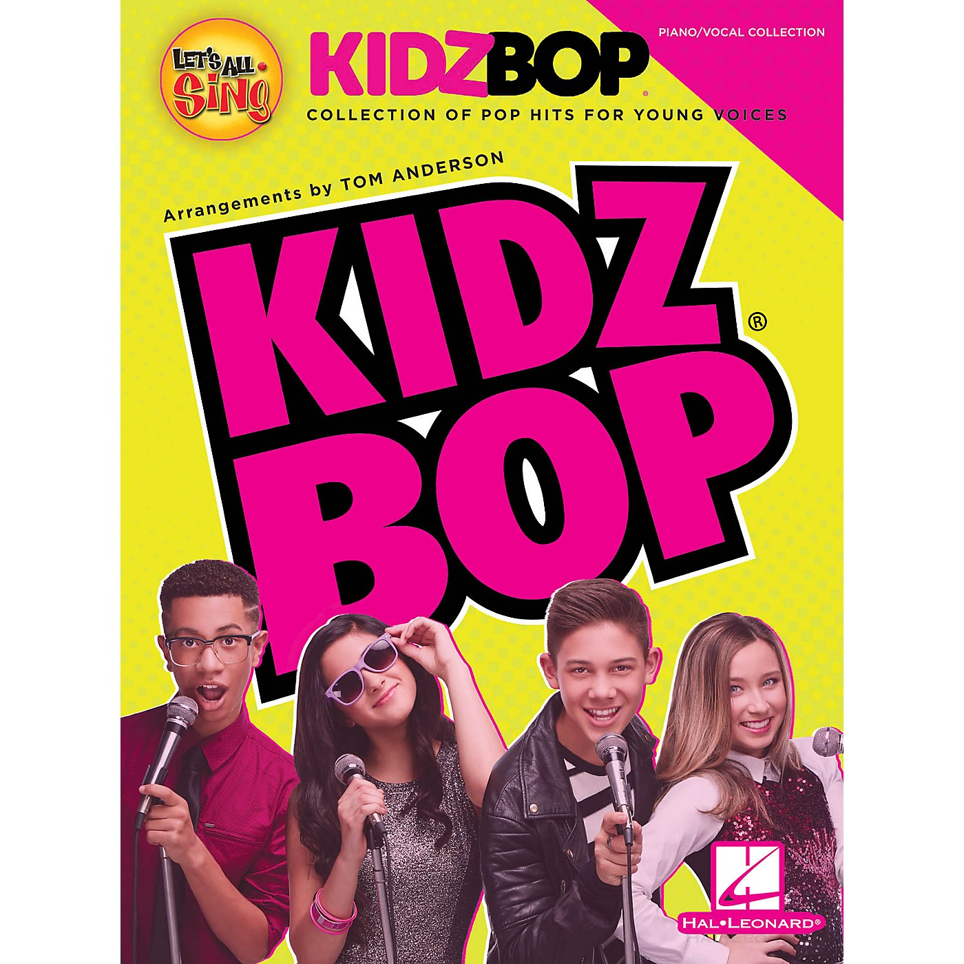 Hal Leonard Let's All Sing KIDZ BOP (Collection for Young Voices) Singer 10 Pak Arranged by Tom Anderson thumbnail