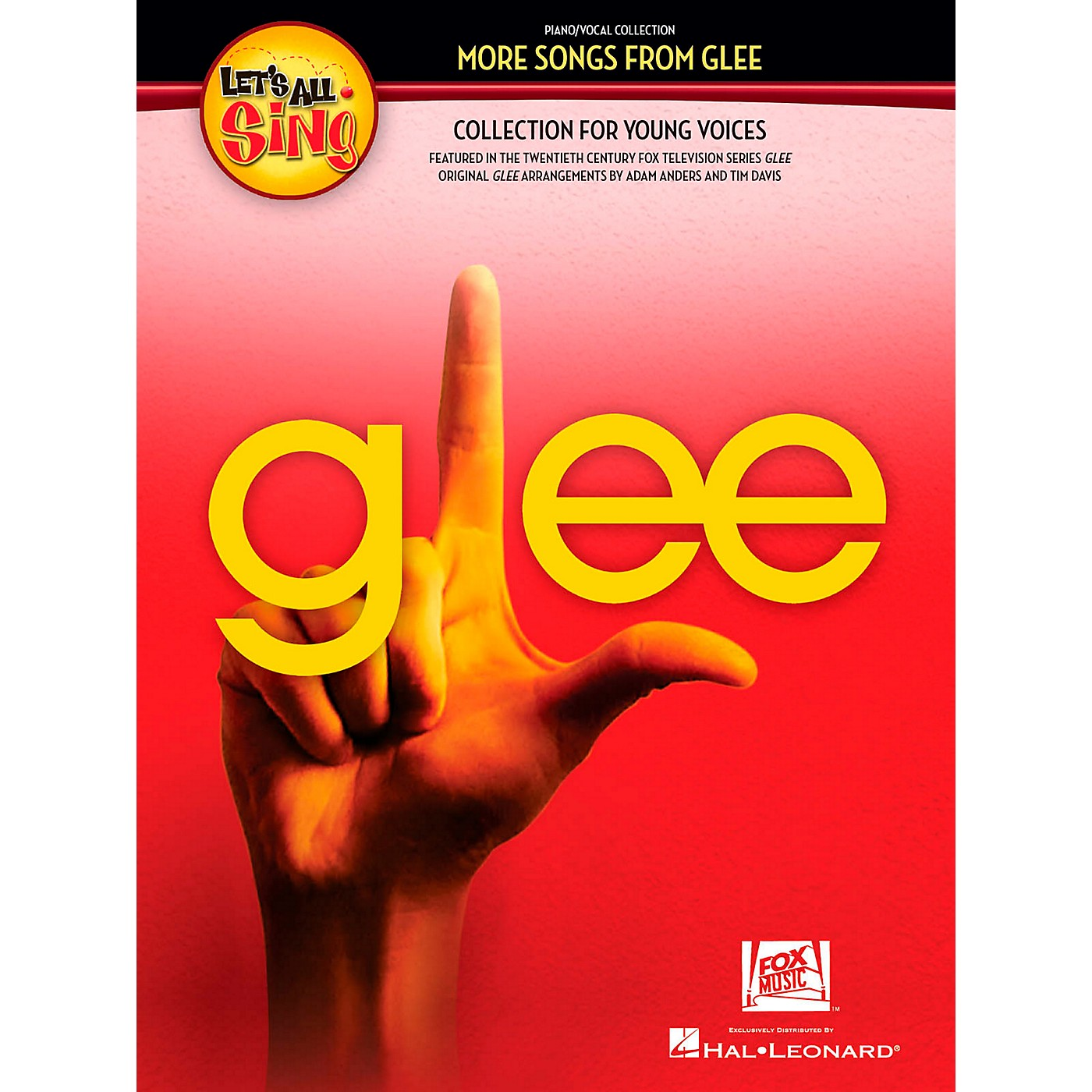 Hal Leonard Let's All Sing More Songs From Glee Collection for Young Voices Performance/Accompaniment CD thumbnail
