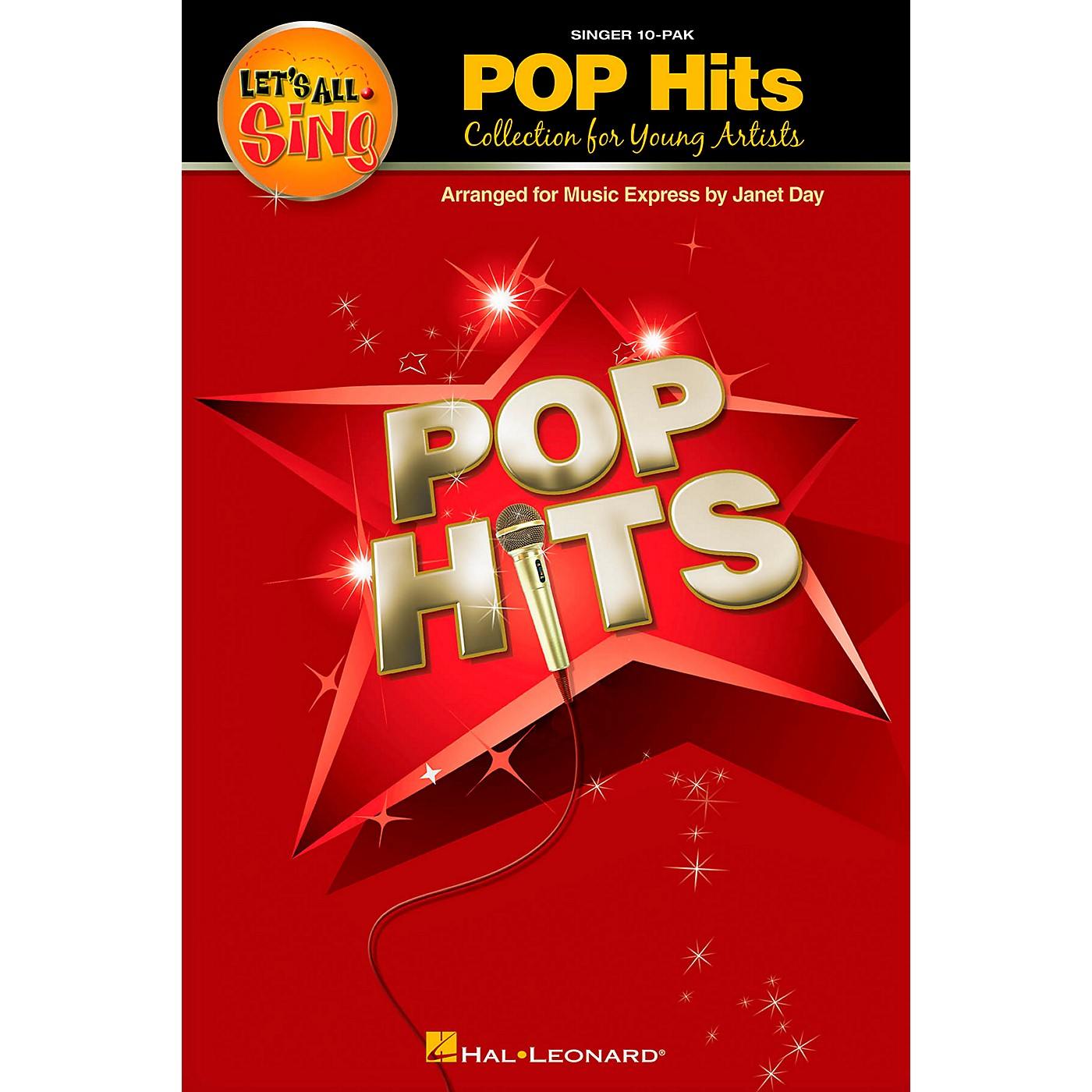Hal Leonard Let's All Sing Pop Hits - Collection for Young Voices 10 Pak thumbnail
