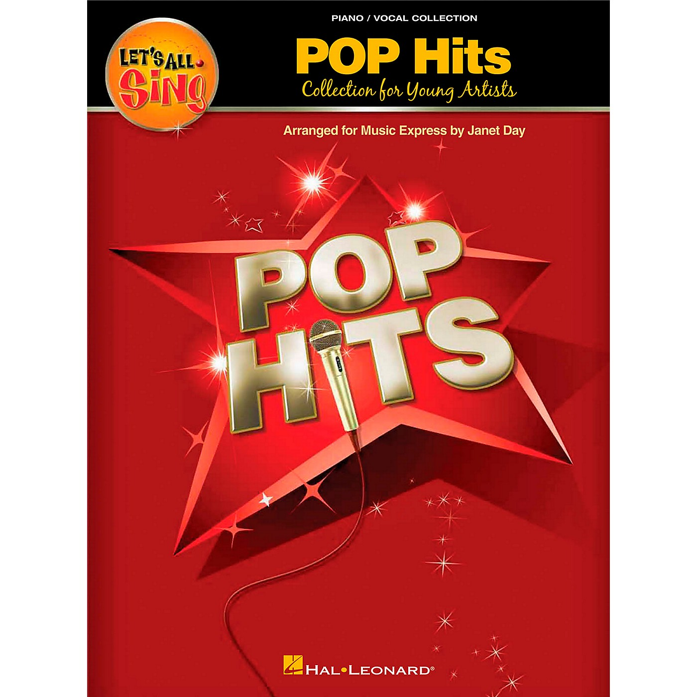 Hal Leonard Let's All Sing Pop Hits - Collection for Young Voices Piano Vocal Collection thumbnail