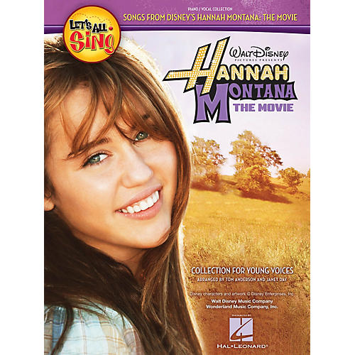 Hal Leonard Let's All Sing Songs From Disney's Hannah Montana: The Movie Performance/Accompaniment CD by Tom Anderson thumbnail