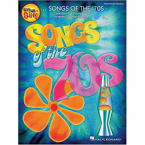 Hal Leonard Let's All Sing Songs Of The '70s Piano/Vocal Collection thumbnail