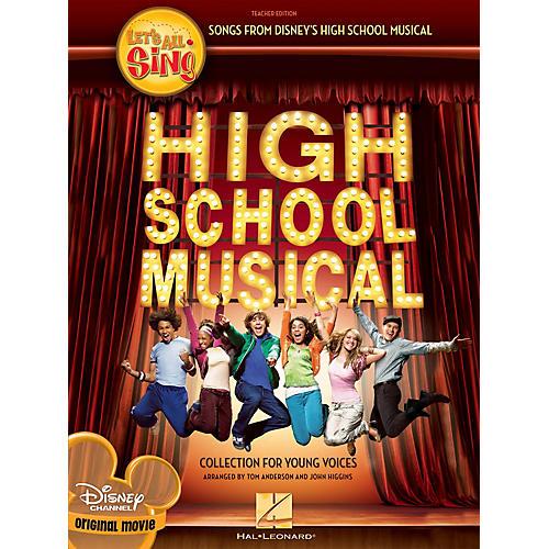 Hal Leonard Let's All Sing Songs from Disney's High School Musical Singer 10 Pak Arranged by John Higgins thumbnail