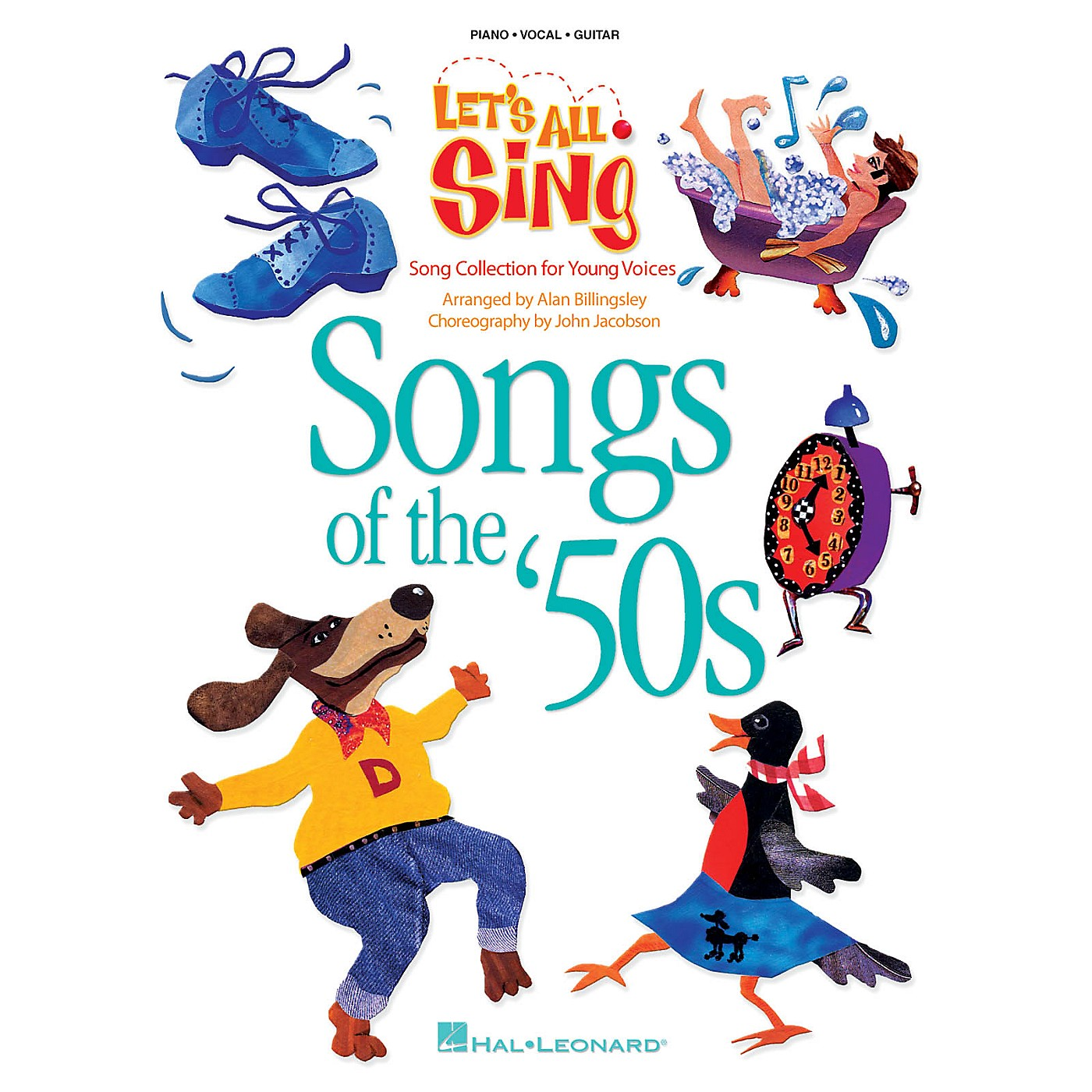 Hal Leonard Let's All Sing Songs of the '50s (Song Collection for Young Voices) ShowTrax CD by Alan Billingsley thumbnail