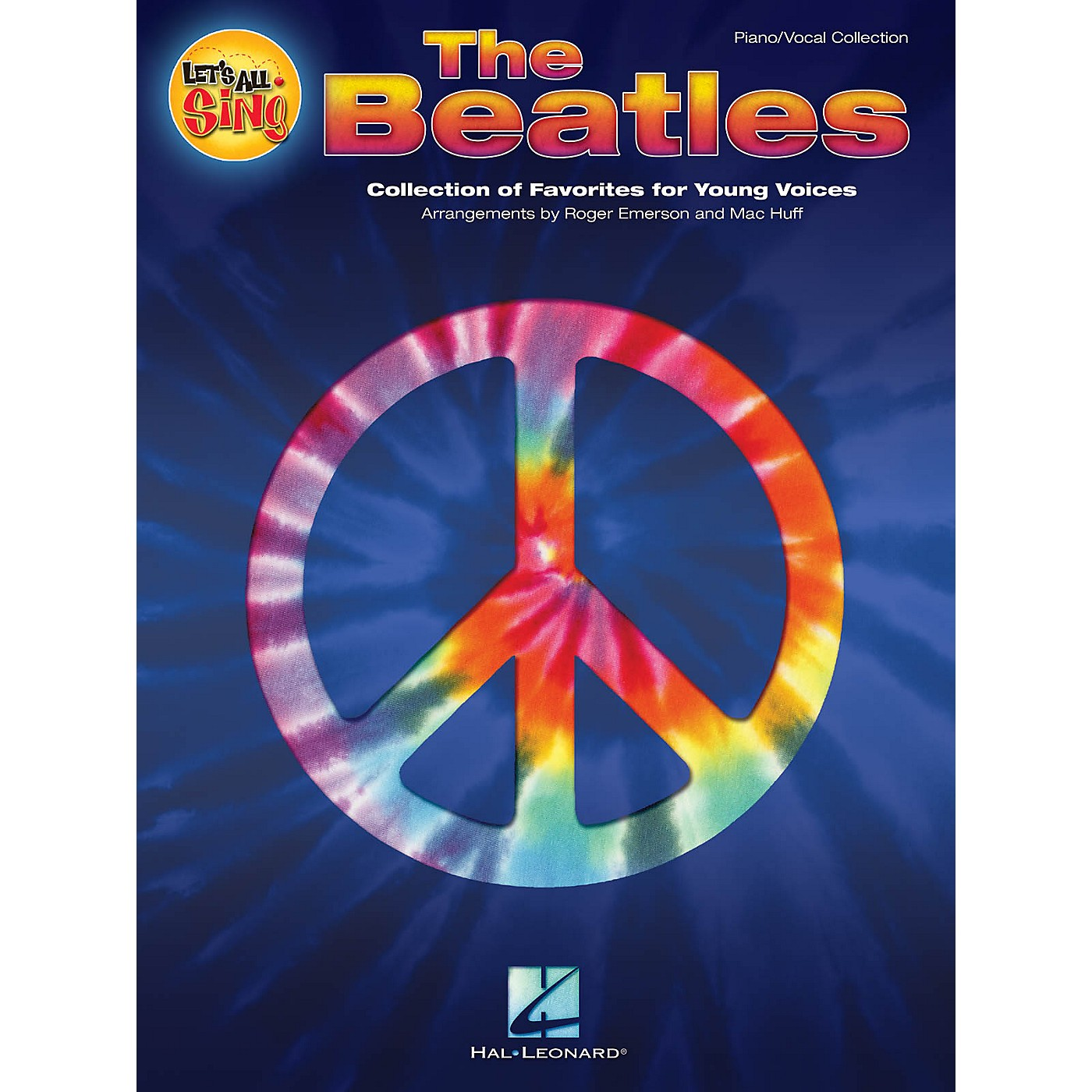 Hal Leonard Let's All Sing The Beatles Performance/Accompaniment CD Arranged by Roger Emerson thumbnail
