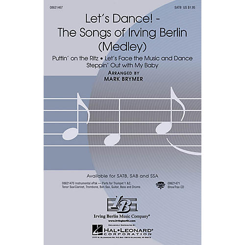 The Songs Of Irving Berlin Medley Satb Arranged: Unforgettable Sheet Music Irving Berlin At Alzheimers-prions.com