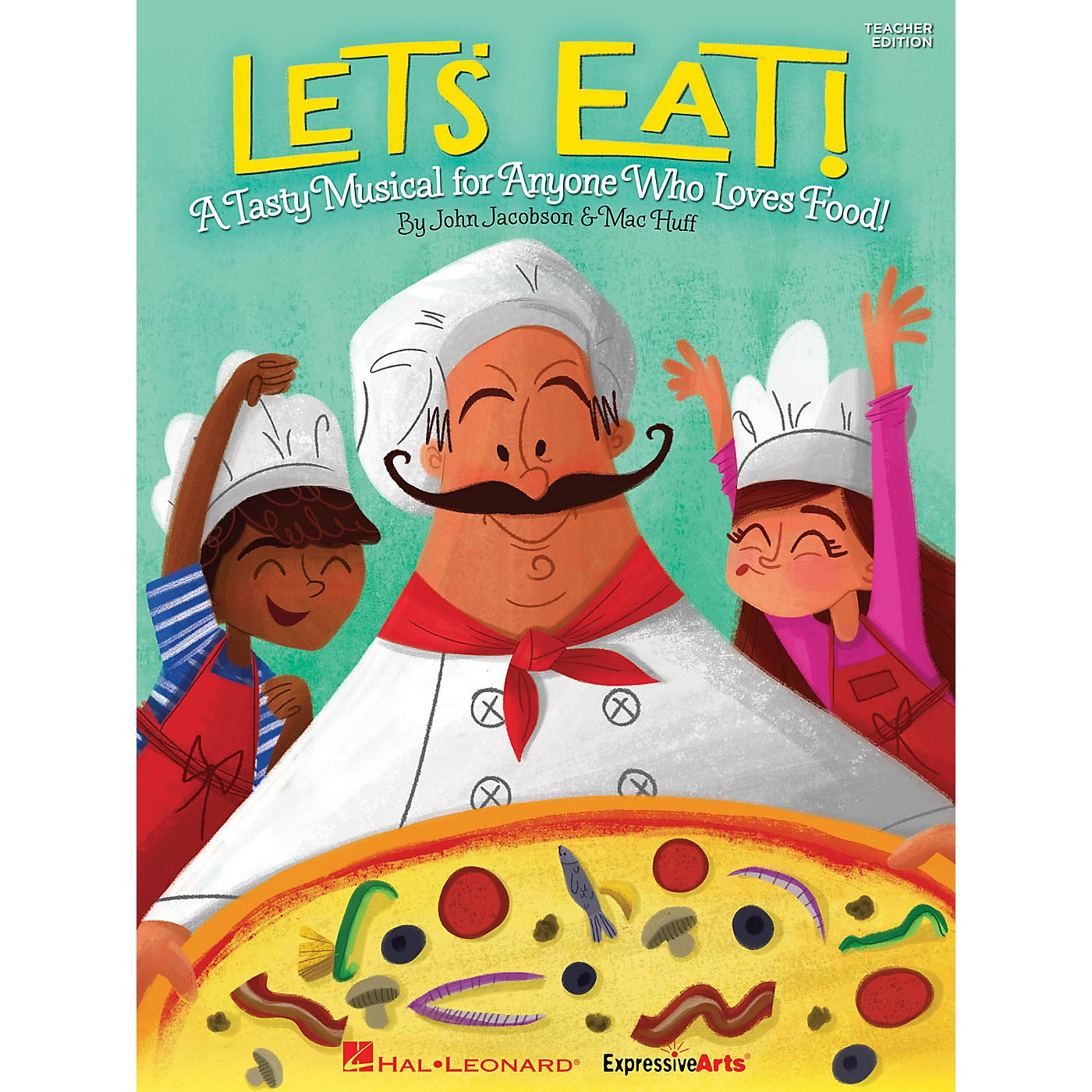 Hal Leonard Let's Eat! (A Tasty Musical for Anyone Who Loves Food!) PREV CD Composed by John Jacobson thumbnail
